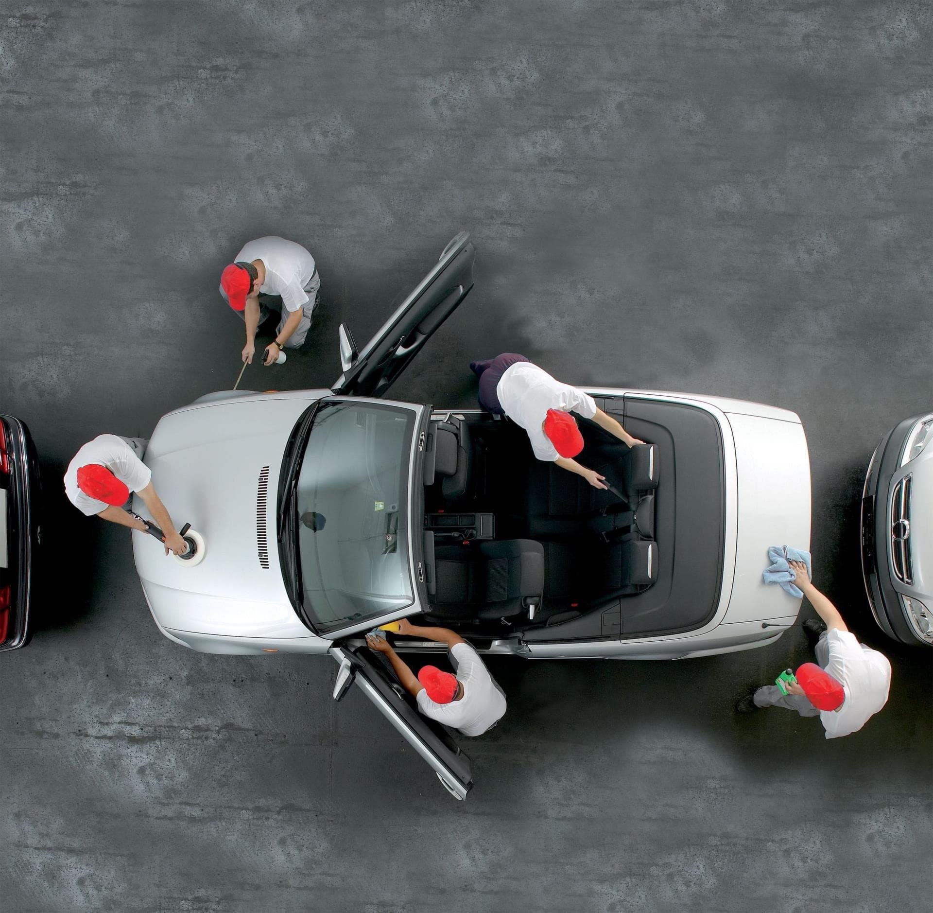 Lavage ext rieur int rieur american car wash clermont for Lavage auto exterieur interieur